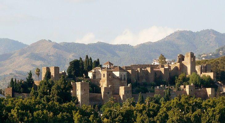 Travelers attraction Alcazaba in Malaga