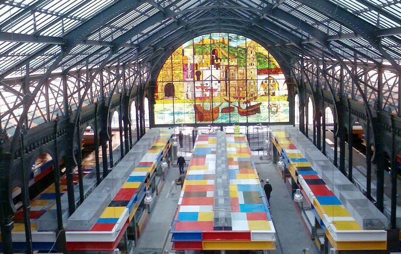 Mercado Central is an amazing place for food lovers