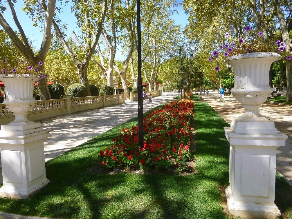 Parque Miguel Servet in Huesca