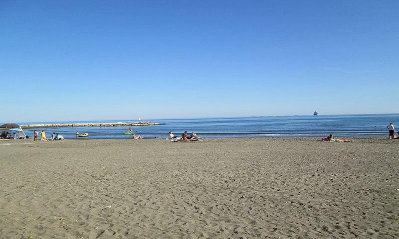 Payas del Palo Beach on Malaga coast