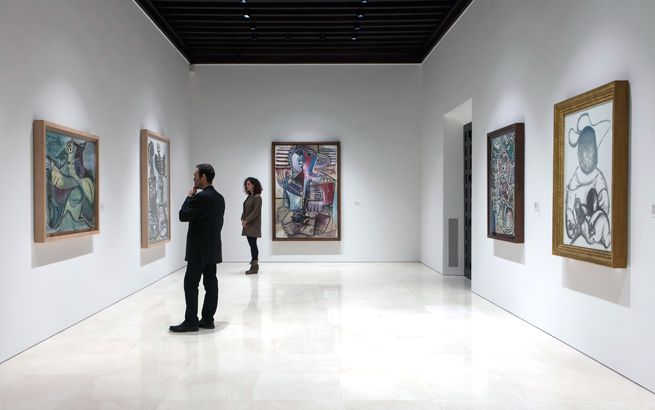 Picasso Museum of Malaga paintings
