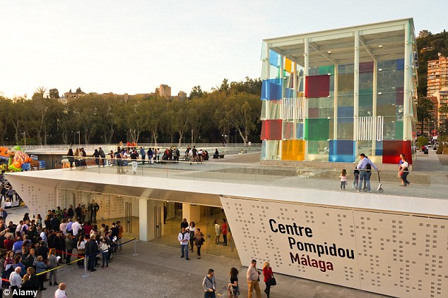 Visit the Pompidou Centre In Malaga