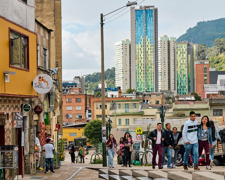 Bogota largest city of Colombia
