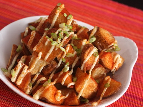 Patata Bravas famous spanish dish
